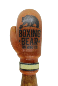 BOXING BEAR BREWERY CLOSE UP